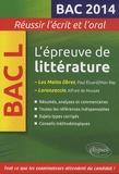 Marie-Henriette Bru - L'épreuve de littérature bac L - Les Mains libres , Paul Eluard/ Man Ray ; Lorenzaccio, Alfred de Musset.