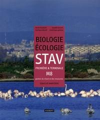 Marie Houdiard et Isabelle Bonnin - Biologie-écologie STAV 1e et TLe M8 - gestion du vivant et des ressources - Cours et exercices résolus.
