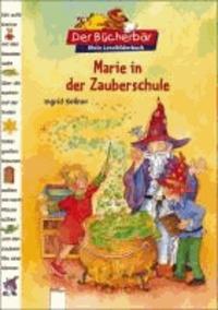 Marie in der Zauberschule.