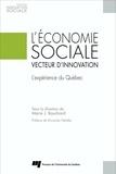 Marie-J Bouchard - L'économie sociale, vecteur d'innovation - L'expérience du Québec.