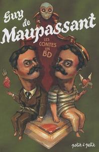 Marie Jaffredo et Antoine Ronzon - Contes de Guy de Maupassant en bandes dessinées.