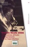 Marie Jauffret-Roustide et Christine Jestin - Enquête Nicolle 2006 - Connaissances, attitudes et comportements face au risque infectieux.