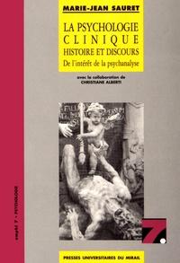 Ucareoutplacement.be La psychologie clinique : histoire et discours - De l'intérêt de la psychanalyse Image