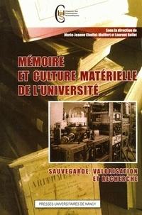 Deedr.fr Mémoire et culture matérielle de l'université - Sauvegarde, valorisation et recherche Image