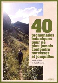 Rhonealpesinfo.fr 40 promenades botaniques pour ne plus jamais confondre narcisses et jonquilles Image