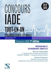 Marie-Jeanne Lorson - Concours IADE - Préparation et entraînement complets - Epreuves d'admissibilité et d'admission.