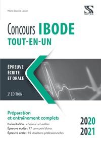 Téléchargements gratuits ebooks pour ordinateur Concours IBODE  - Tout-en-un 9791091515900 par Marie-Jeanne Lorson en francais
