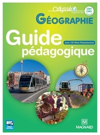 Marie-Jeanne Ouriachi et Didier Caille - Géographie CM1-CM2 - Guide pédagogique. 1 Cédérom