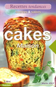 Marie Joly - Cakes maison - Sucrés & salés.