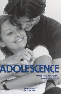 Marie-José Auderset et Jean-Blaise Held - Adolescence.