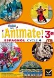 Marie José Casas et Nadine Castéra - Espagnol 3e cycle 4 - Livre de l'élève.
