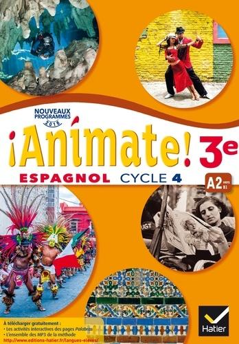 Espagnol 3e Cycle 4 Livre De L Eleve Grand Format