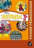 Marie José Casas et Nadine Castéra - Espagnol 3e LV2 Cycle 4 Animate! - Fichier pédagogique.