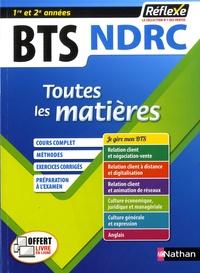 Marie-José Chacon Benito et Christel Pommier - BTS NDRC 1re et 2e années - Toutes les matières.