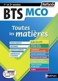Marie-José Chacon Benito et Monica Manzi - Toutes les matières BTS MCO 1re et 2e années.
