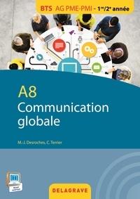 Marie-José Desroches et Claude Terrier - A8 Communication globale BTS AG PME-PMI 1re/2e années.