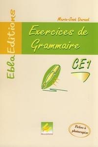 Marie-José Durand - Exercices de grammaire CE1.