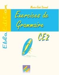 Marie-José Durand - Exercices de grammaire CE2.