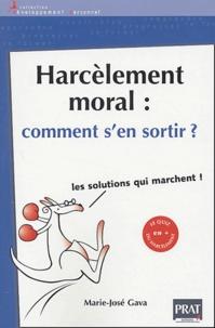 Téléchargements de livre Epub bud Harcèlement moral : comment s'en sortir ? 9782858907663