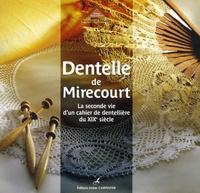 Marie-José Massol - Dentelle de Mirecourt - La seconde vie d'un cahier de dentellière du XIXe siècle.