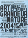 Marie-José Mondzain et Catherine de Smet - Art Grandeur Nature 2004. 1 Cédérom