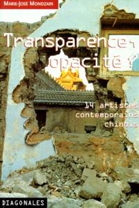 TRANSPARENCE, OPACITE ? TOUMING BU TOUMING. 14 artistes contemporains chinois.pdf
