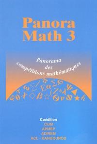 Marie-José Pestel et André Antibi - PanoraMath 3 - Panorama des compétitions de mathématiques.