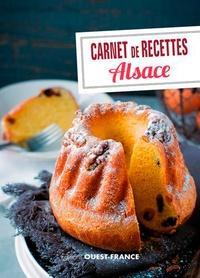 Marie-José Strich - Carnet de recettes d'Alsace.