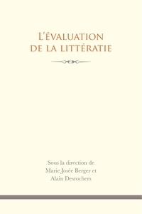 Marie-Josée Berger et Alain Desrochers - L'évaluation de la littératie.