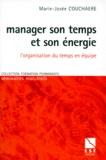 Marie-Josée Couchaere - Manager son temps et son énergie - L'organisation du temps en équipe.
