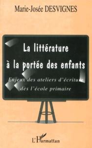 La littérature à la portée des enfants. Enjeux des ateliers décriture dès lécole primaire.pdf