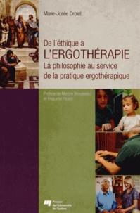 Blackclover.fr Del'éthiqueàl'ergothérapie - Laphilosophieauservicedelapratiqueergothérapique Image