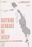 Marie-Joseph Dubois - Histoire résumée de Belep, Nouvelle-Calédonie.
