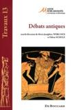 Marie-Joséphine Werlings et Fabian Schulz - Débats antiques.