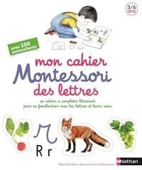 Era-circus.be Mon cahier Montessori des lettres - Un cahier à compléter librement pour se familiariser avec les lettres et leurs sons Image