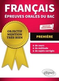 Marie Krebs - Français épreuves orales du bac 1re.