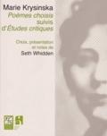 Marie Krysinska - Poèmes choisis suivis d'Etudes critiques.