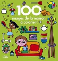 Marie Kyprianou - 100 images de la maison à colorier !.