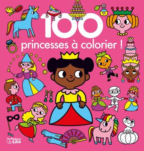 Marie Kyprianou - 100 princesses à colorier !.