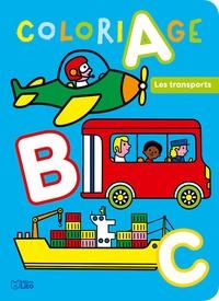 Marie Kyprianou - Abc à colorier - Les transports.