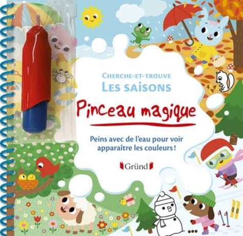 Marie Kyprianou - Cherche-et-trouve Les saisons.