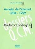 Marie Laloi - ENDOCRINOLOGIE. - Annales de l'internat 1988-1999.