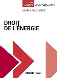 Marie Lamoureux - Droit de l'énergie.