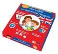 Marie Laroche - Mon coffret pour apprendre l'anglais - Dès 6 ans : une méthode progressive ; un jeu de cartes ; une ardoise effaçable ; un plateau aimanté et ses magnets. 1 CD audio