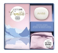 Marie-Laure Bayle - Coffret Ma petite pierre de l'amitié - Le petit livre de l'amitié avec 1 jade blanc véritable.