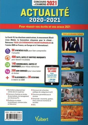 Actualité 2020-2021. Concours et examens  Edition 2021