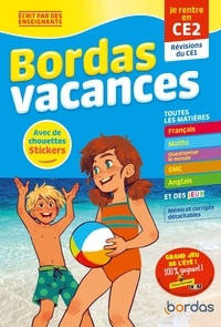 Marie-Laure Fauquet-Gobin et Manu Surein - Bordas vacances - je rentre en ce2.