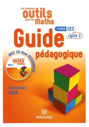 Marie-Laure Frey-Tournier et Françoise Reale-Bruyat - Les nouveaux outils pour les maths CE2 - Guide pédagogique. 1 Cédérom