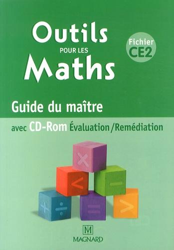 Marie-Laure Frey-Tournier et Françoise Reale-Bruyat - Outils pour les maths CE2 - Guide du maître. 1 Cédérom