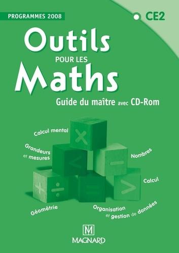Marie-Laure Frey-Tournier et Françoise Reale-Bruyat - Outils pour les Maths - CE2 - Guide du maître - Programmes 2008. 1 Cédérom